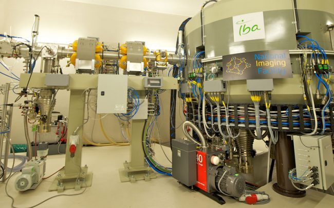 UQ research cyclotron