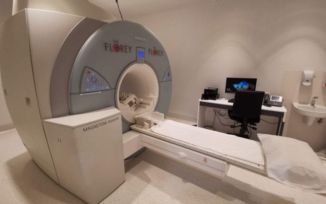 Mock MRI scanner