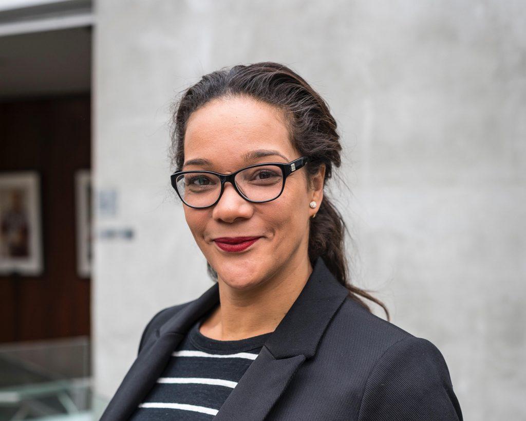 Profile photo of Shawna facing camera and smiling
